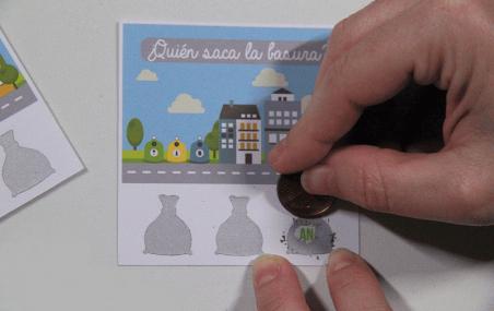 Impresión tarjetas rasca y gana